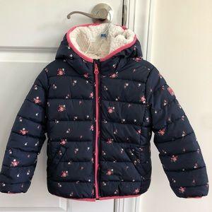 Gap puffer coat